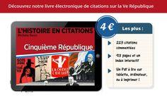 Revivez l'histoire de la Ve République et de ses élections en 223 citations commentées dans notre Chronique