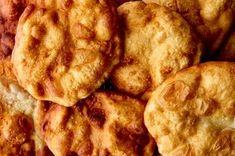 I fell in love with frybread before I'd ever even tasted it. I was a kid, and my parents rented a great movie called Smoke Signals for our family movie night. It's a lovely, funny story about young Na Fried Bread Recipe, Bread Recipes, Cooking Recipes, Flour Recipes, American Dishes, Recipe Directions, Bread Rolls, Food 52, Tostadas