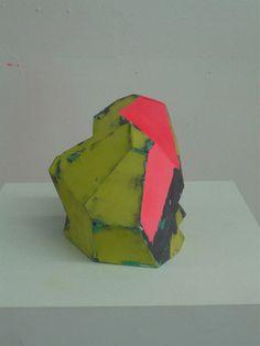 Zachary Buchner green pink ceramic verte rose céramique