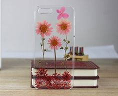 Pressed flowers case