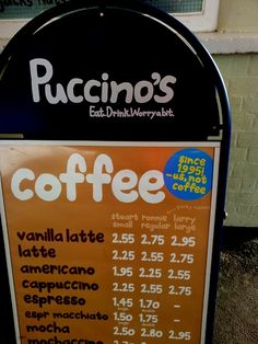 Puccinos coffee bars | Making a Marque Coffee Bars, Drinks, Bottle, How To Make, Top, Beverages, Flask, Drink, Beverage