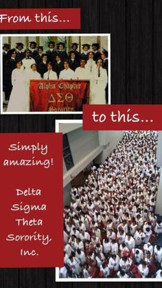 The Journey That Never Sleeps. DELTA SIGMA THETA Never Dies...We Simply Multiply!!