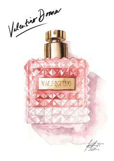 valentino donna perfume - Google Search