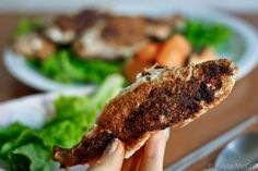 Gluten-Free Coconut Flour-Crusted Fish (I would use tilapia or cod instead of full fish)