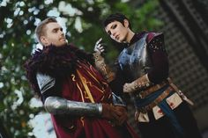 gillykins:  Into darkness, unafraid Costume Made By: GillyKins Construction Notes: Cassandra & Cullen Photo By: Anna Fischer Let me just casually freak out at how happy I am with how both our costumes came out and how damn good Jeff looks. He was all IDK how I'll look as Cullen, boy plz.