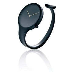 Vivianna Open Bangle Watch by Georg Jensen: Iconic. Also in stainless steel and gold.