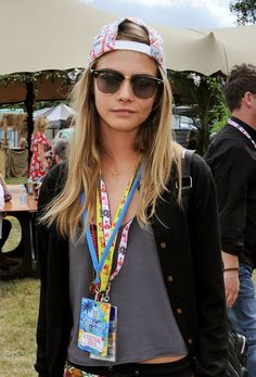 Cool Cara in her snapback