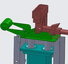 part of the machine Brick Roof, Lego Brick, Brick Wall, Cama Design, Barrel Stove, Rammed Earth Homes, Interlocking Bricks, Brick Molding, Roof Trusses