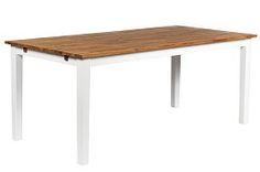 Köp Matbord Vera 180 cm Ek/Vit hos Chilli. Hos oss får du hög kvalitet till bra pris. Handla fraktfritt med snabb leverans direkt till dörren - Välkommen!