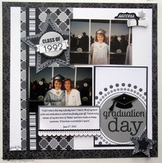 2 photo 1 page graduation ...Doodlebug Design Inc Blog: Cap & Gown: Layout Inspiration by Tya Smith
