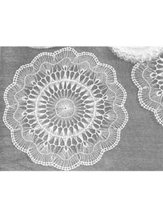 Hairpin Lace Doily ... Now I just need to find a staple thingy and learn how to use it