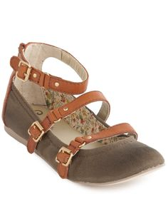 Seychelles Stand and Deliver Flats. So cute!
