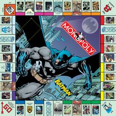 MONOPOLY: BATMAN™ Collector's Edition.     I NEED THIS!