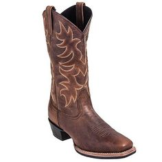 Laredo Boots: Men's 68362 Square Toe 12 Inch Tan Cowboy Boots,    #Boots,    #68362,    #LaredoBoots