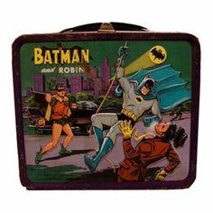had a Batman lunch box.