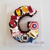 Oreos, Cake Pops, Monster Inc Cakes, Alphabet Cake, Butterfly Garden Party, Cake Lettering, Marvel Cake, Avenger Cake, Cookie Cakes
