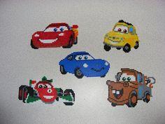 Cars hama perler beads by ki-vi