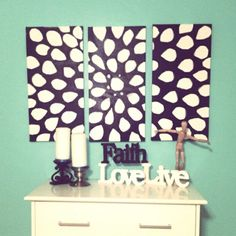 I love to paint & this is cute (: