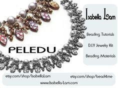 PELEDU Amazing DIY Pearls Czech Leaves and SuperDuo by bead4me, $53.00