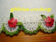 ஜMirian-receitas de crochêஜ: Barradinhos de crochê