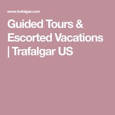 International tour packages from Trafalgar Travel give you the freedom to fall in love with the world. Live the good life with Trafalgar USA. Australia Tours, Booking Sites, Tour Guide, Trip Planning, Traveling By Yourself, Vacations, Activities, Holidays, Holidays Events