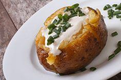 Baked Potatoes mit Sauerrahm
