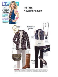 #Colaboración con la #Revista In Style. Noviembre 2009.