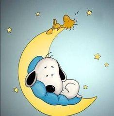 Night night Snoopy and Woodstock! Night night Snoopy and Woodstock! Baby Snoopy, Snoopy Love, Snoopy Nursery, Snoopy Cartoon, Peanuts Cartoon, Peanuts Snoopy, Sleep Cartoon, Baby Cartoon, Peanuts Characters