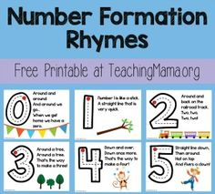 number rhymes