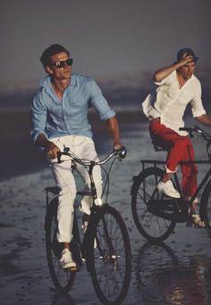 preppy bike ride.