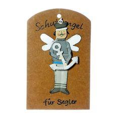 Anhänger Schutzengel für Segler Metall Geschenkanhänger Glücksbringer Fictional Characters, Art, Guardian Angels, Metal, Creative, Nice Asses, Art Background, Kunst, Gcse Art