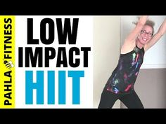 20 Minute LOW IMPACT Fat Burning CARDIO HIIT | BEGINNER Calorie Crushing Workout without Jumping - YouTube