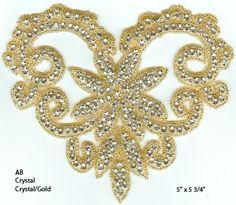 Check out the deal on 1146 Rhinestone Applique (click for price) at Glitz and Glamour