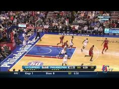 Clippers vs Sixers 2/11/13 - aka Dunkin' in your face over and over again!!!