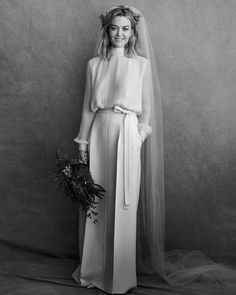 The color of the heiress Zara& breathtaking Valentino wedding dress corresponds to . - The color of the heiress Zara& stunning Valentino wedding dress did not match your expectation - Sexy Wedding Dresses, Colored Wedding Dresses, Cheap Wedding Dress, Bridal Dresses, Wedding Attire, Zara Wedding Dress, Wedding Gowns, Lace Wedding, Valentino Wedding Dress