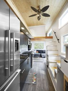 TINY HOUSE TOWN: Lillooet Tiny House (400 Sq Ft)