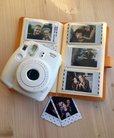 Instax Mini album for 120 photos of your sweet memories. The Mini album is the perfect way to keep all your captured moments organised.  - Album aviable in Orange colour. - Album size: 115 x 200 x 20 mm.