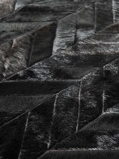 Pure™ Rugs  Yves Patchwork Cowhide