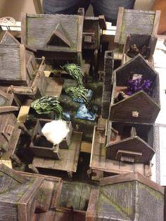 l'Hydra aveva preso il possesso del villaggio....