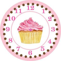 Something Sweet For You Cupcake Labels Clock Printable, Printable Labels, Free Printables, Scrapbook Paper, Scrapbooking, Cupcake Pictures, Cupcake Pics, Cupcake Quotes, Diy And Crafts
