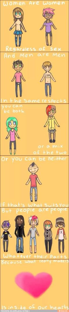 What a cute comic with a great message