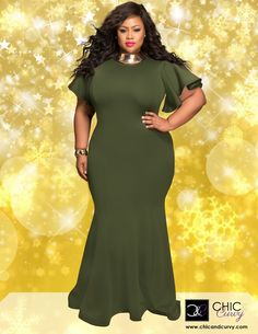 First Look: Chic & Curvy Holiday Collection http://thecurvyfashionista.com/2016/12/chic-curvy-plus-size-holiday/   Looking for a great plus size evening dress for the holiday season? Check out the latest lookbook from LA-based plus size boutique, Chic & Curvy!