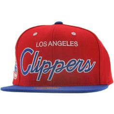 3e5b4834c Mitchell And Ness Los Angeles Clippers 2 Tone Snapback Cap (red royal) ( 26