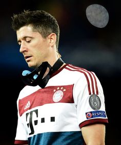 ROBERT LEWANDOWSKI BAYERN MUNICH CHAMPIONS LEAGUE *BY NATALIE