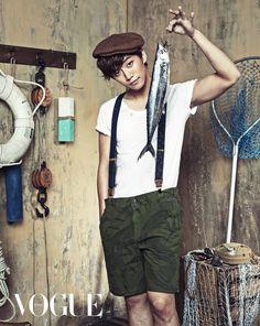2PM's Lee Junho Vogue Magazine June Issue '13