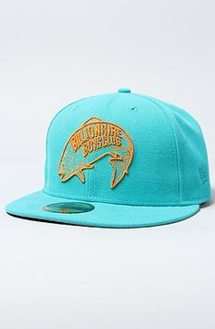 The Space Trout Hat in Teal by Billionaire Boys Club