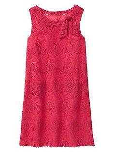 Lace shift dress | Gap $36.99