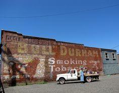 Bull Durham - Oakland, Oregon by Vintage Roadside, via Flickr