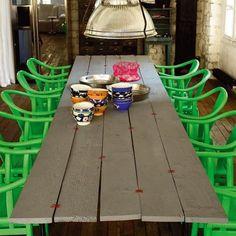 """Une table """"couture"""" par Paola Navone"""