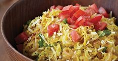 Spaghetti squash is an often-overlooked vegetable. But it's a very powerful ingredient from a brain-health perspective: it's low in saturated fat, very low in cholesterol, and a good source of niacin, vitamin B6, and pantothenic acid—plus spaghetti squash is a very good source of vitamin C. In this recipe, strands of baked spaghetti squash are [...]